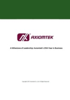 A Milestone of Leadership: Axiomtek's 25th Year in Business