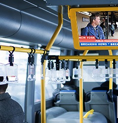 Application Story: Mass Transit Infotainment Systems